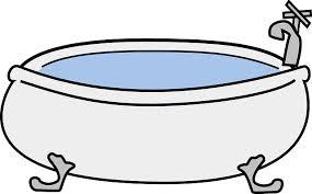 rituel du bain enfant