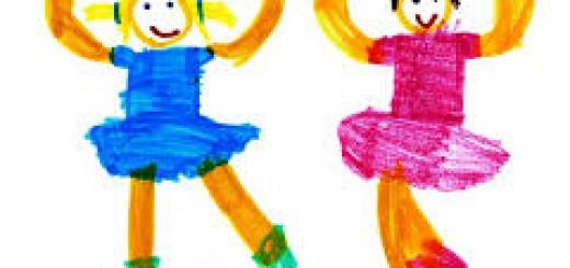 danse avec enfants