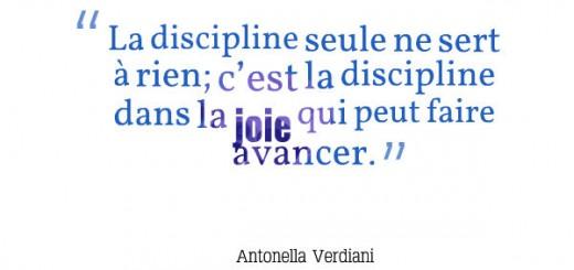 éducation à la joie discipline dans la joie