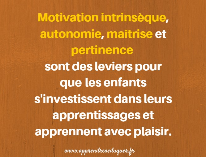 motivation école