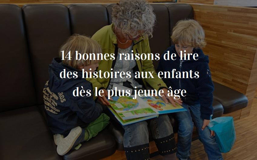 pourquoi lire des histoires aux enfants