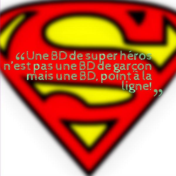 théorie du genre une bd de super héros est une bd pour tous