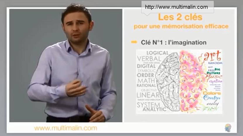 imagination et technique de mémorisation