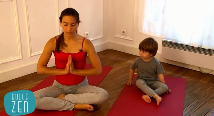 namaste yoga pour enfant