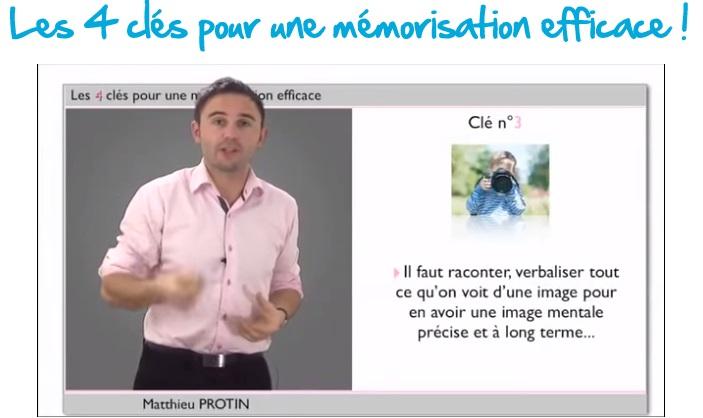 clé 3 pour une mémorisation efficace par association d'images mentales