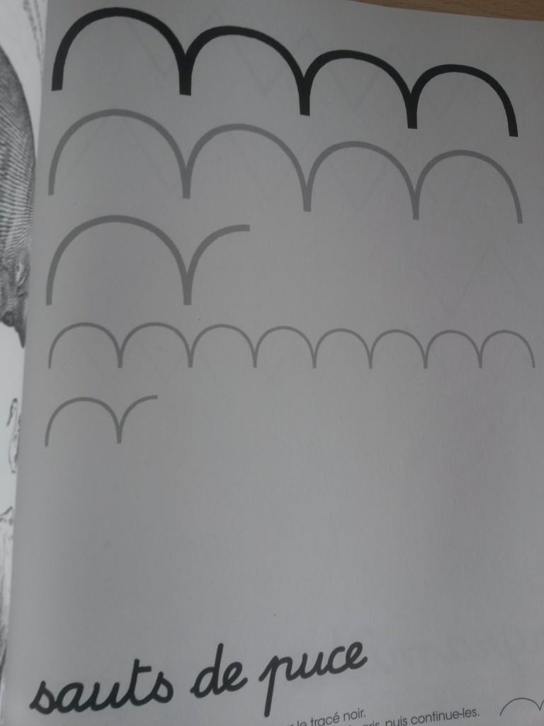 le très très gros cahier d'activités de Balthazar Montessori graphisme