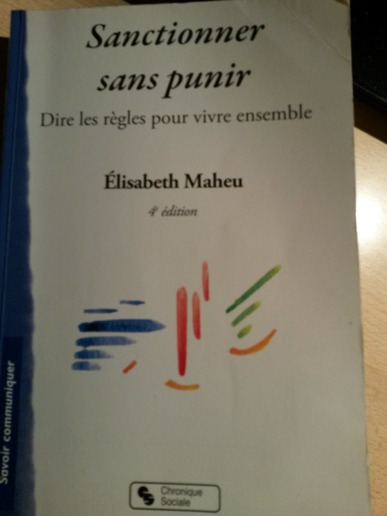 livre sanctionner sans punir