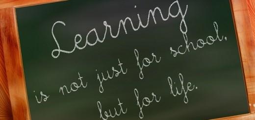 Apprendre ce n'est pas que pour l'école, c'est pour la vie.