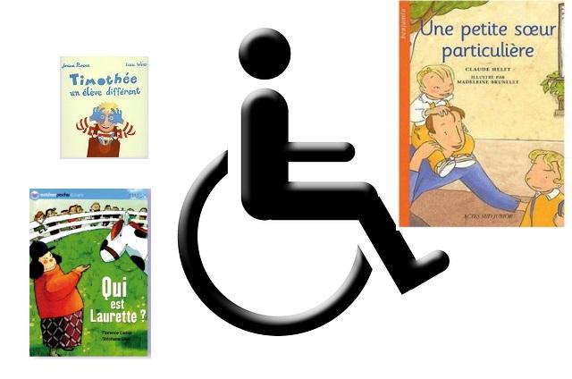livres pour enfants sur le handicap