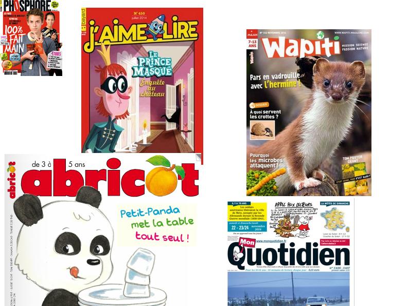 abonnements magazines cadeaux