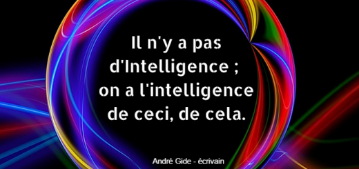 iln'y a pas d'intelligence on a l'intelligence de ceci, de cela