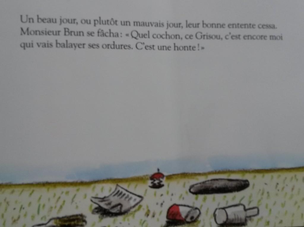 la brouille livre enfants