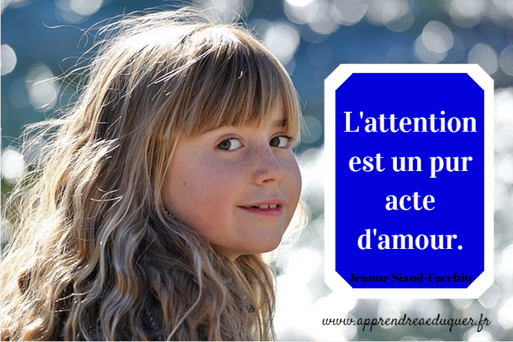 l'attention est un pur acte d'amour