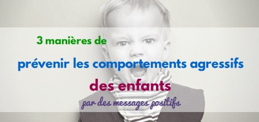 comportements agressifs enfants