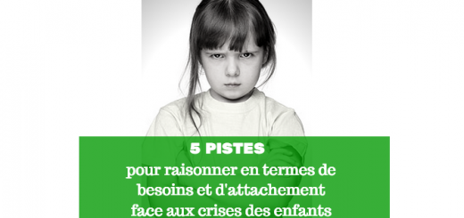 crises des enfants