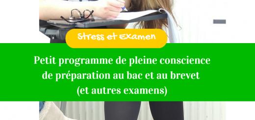 stress et examen