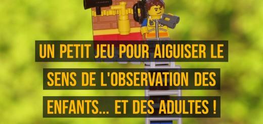 jeu observation enfants