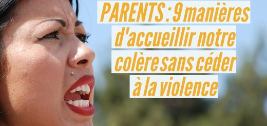 colère parents