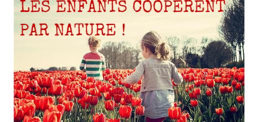 les enfants coopèrent par nature