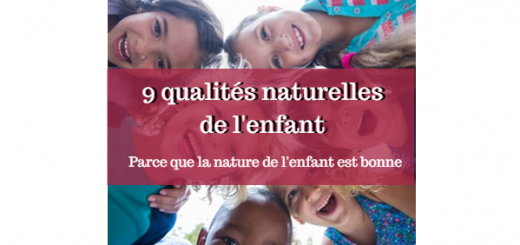 qualités naturelles des enfants