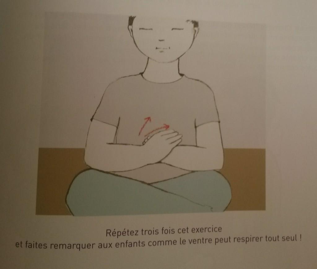 exercices respiration enfants