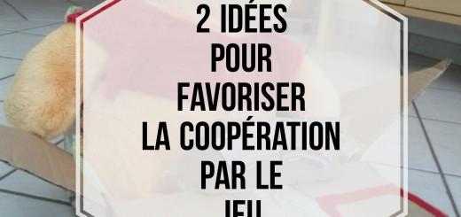coopération enfants jeu