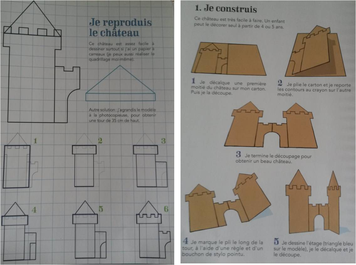 3 constructions en carton faire avec les enfants. Black Bedroom Furniture Sets. Home Design Ideas