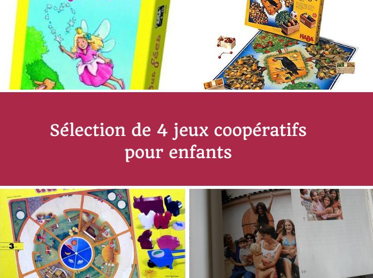 S lection de 4 jeux coop ratifs pour les enfants - Jeux de societe a fabriquer ...