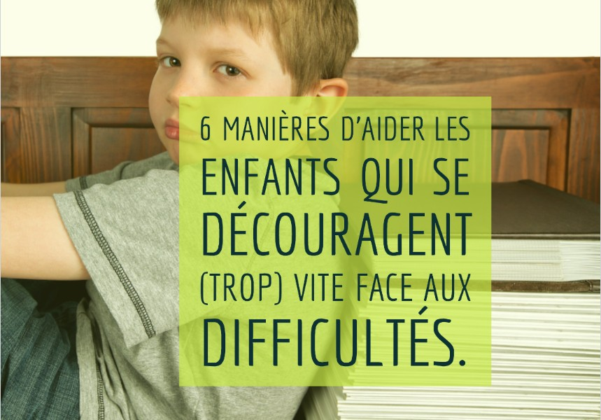 fatigue enfant 6 ans