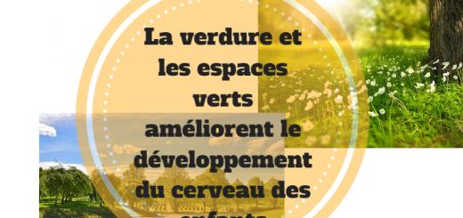 espaces verts développement cerveau enfants