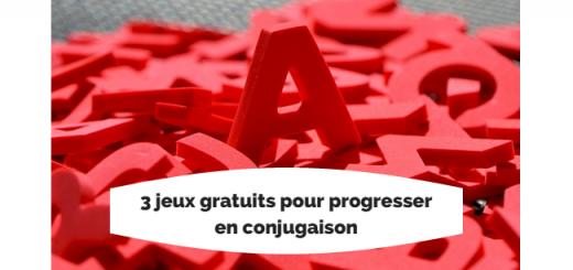 jeux conjugaison