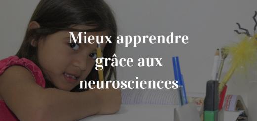 mieux apprendre neurosciences