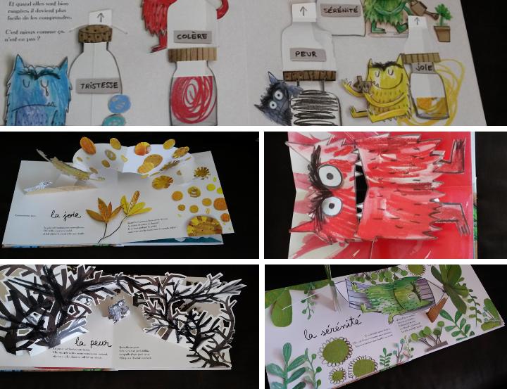6 livres pour enfants sur les motions for La couleur jaune signification