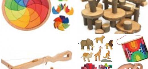 jeux et jouets en bois écologiques