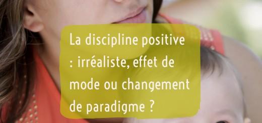 discipline positive effet de mode