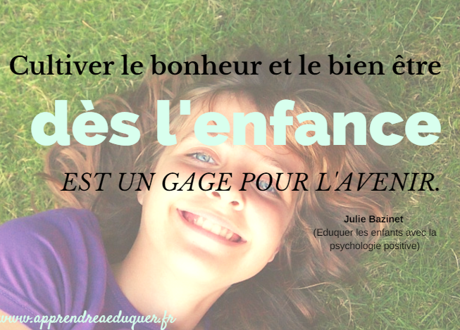 citation psychologie positive enfants