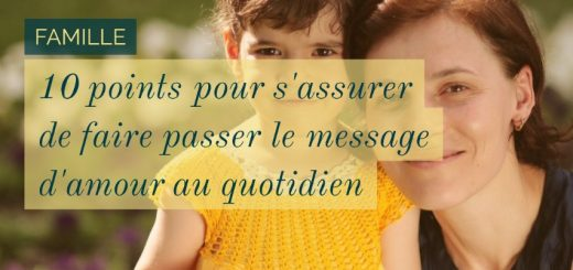 faire passer le message d'amour
