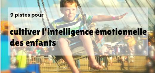 intelligence émotionnelle enfant