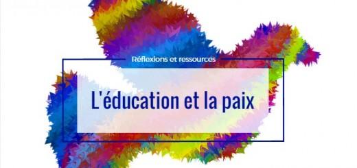 éducation et paix