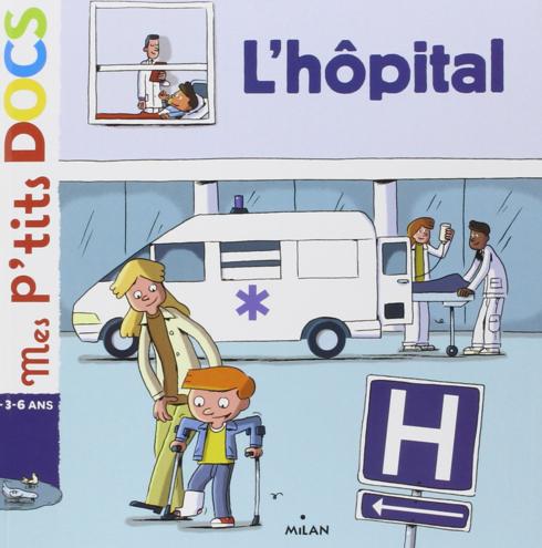 livre sur l'hopital pour les enfants