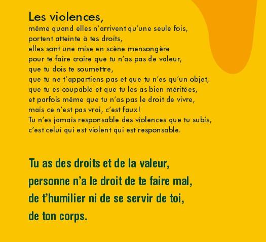 définition violences