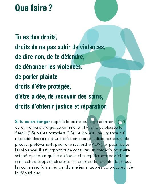 se protéger des violences