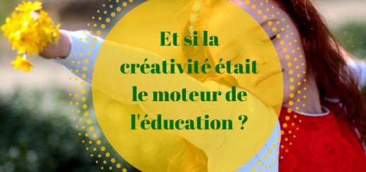 la créativité dans l'éducation