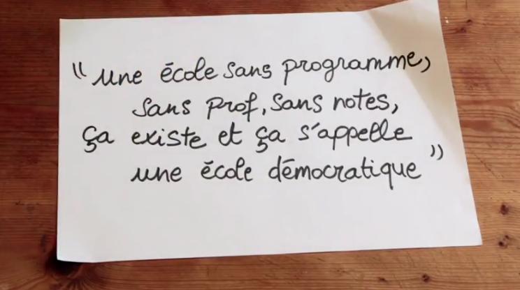 école démocratique