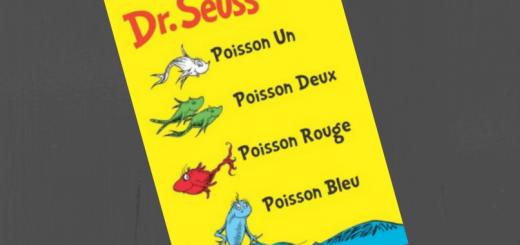 Poisson Un Poisson Deux Poisson Rouge Poisson Bleu dr seuss