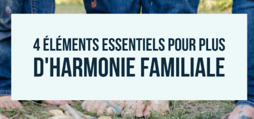 harmonie familiale