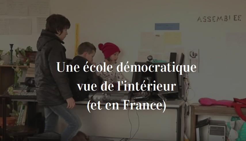 école démocratique en france