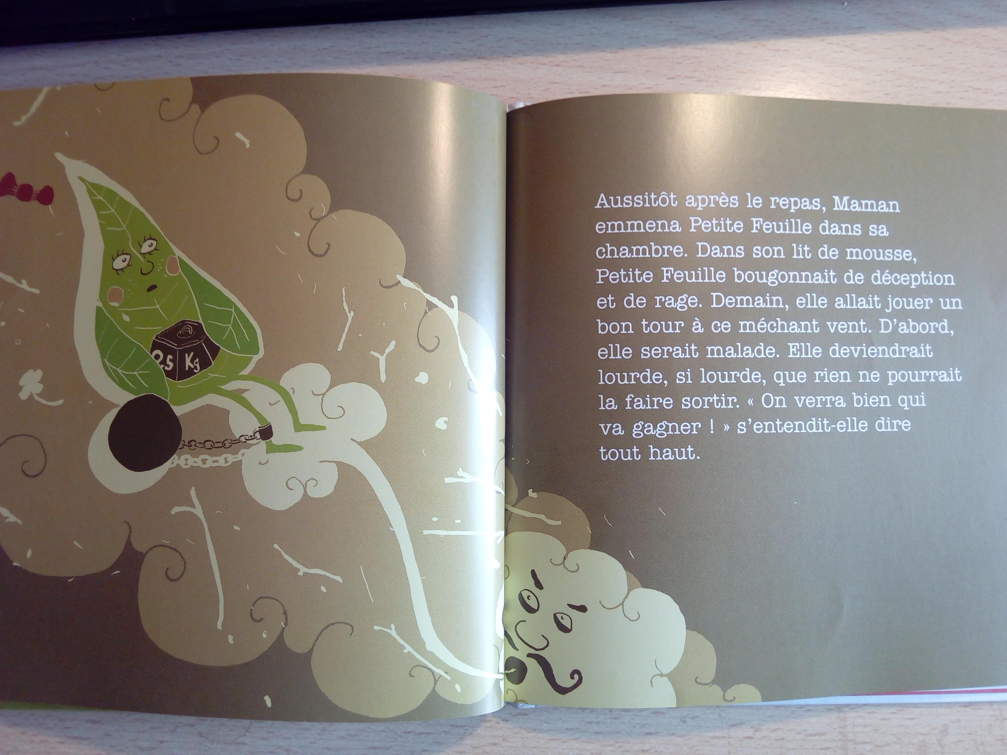 petite feuille n 39 aime pas le vent un livre pour aider les enfants surmonter l 39 angoisse de. Black Bedroom Furniture Sets. Home Design Ideas