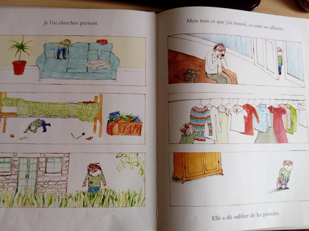 livre enfant mort maman