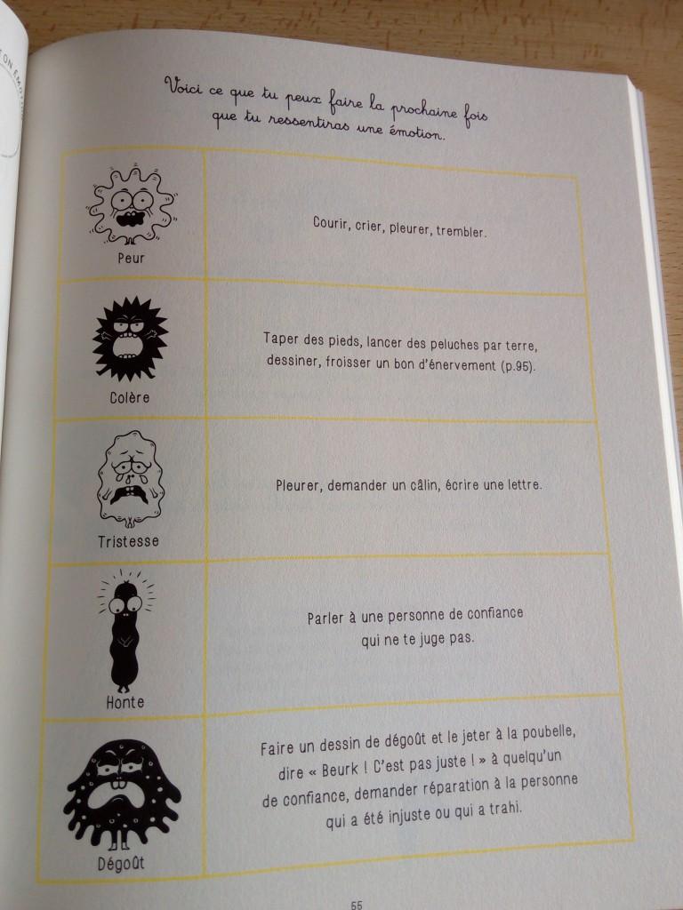 cahier filliozat sur les émotions enfants